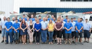 Bertie Heating & Air Conditioning team photo