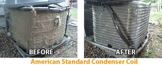Keeping The Evaporator Condenser Coils Clean