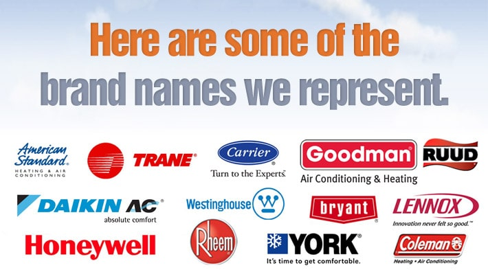 Top Brand Names Bertie Heating Amp Air Conditioning Llc
